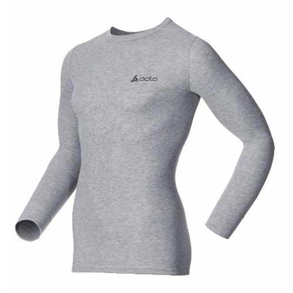 Odlo Shirt L/S Crew Neck Warm Grey