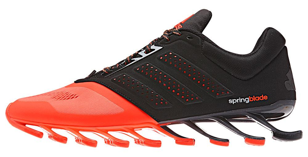 Low Cost Mens Adidas Springblade Drive - Running Adidas Springblade Drive 2 Core Black   Solar Red 1097610 P