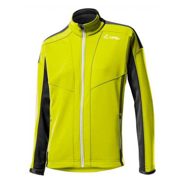 Loeffler Warm Up Wind Stopper Softshell Warm Lemon