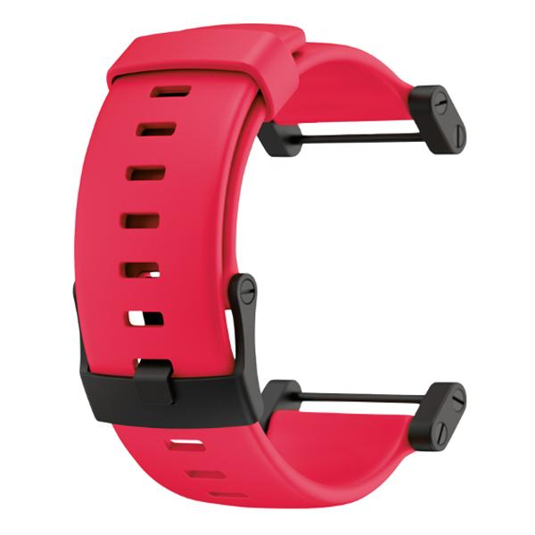 Suunto Core Crush Red Flat Silicone Strap