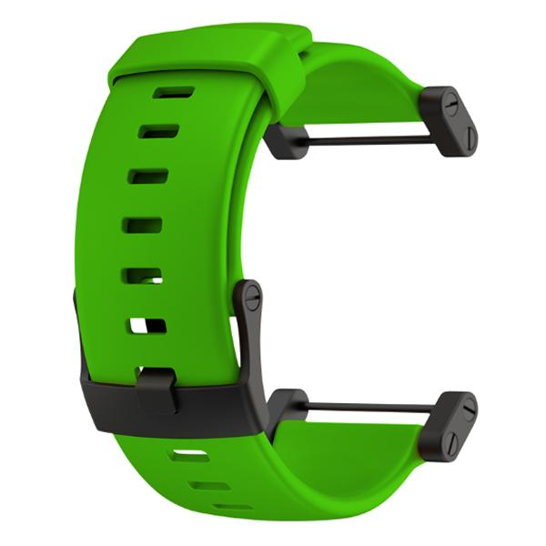 Suunto Core Crush Green Flat Silicone Strap
