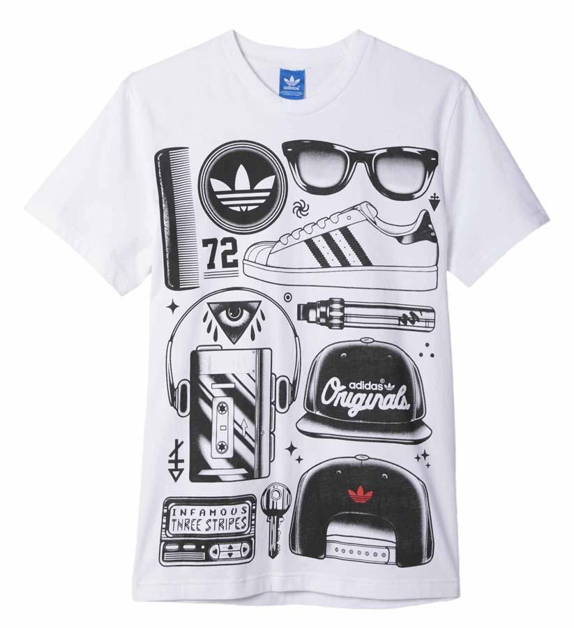 camiseta adidas superstar