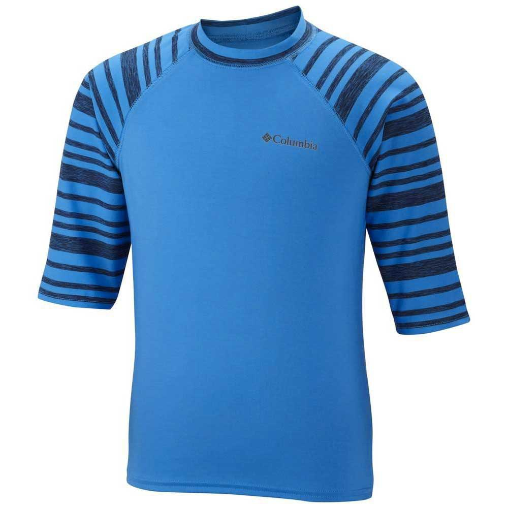 Columbia Mini Breaker Ii Short Sleeve Sunguard Hyper Junior