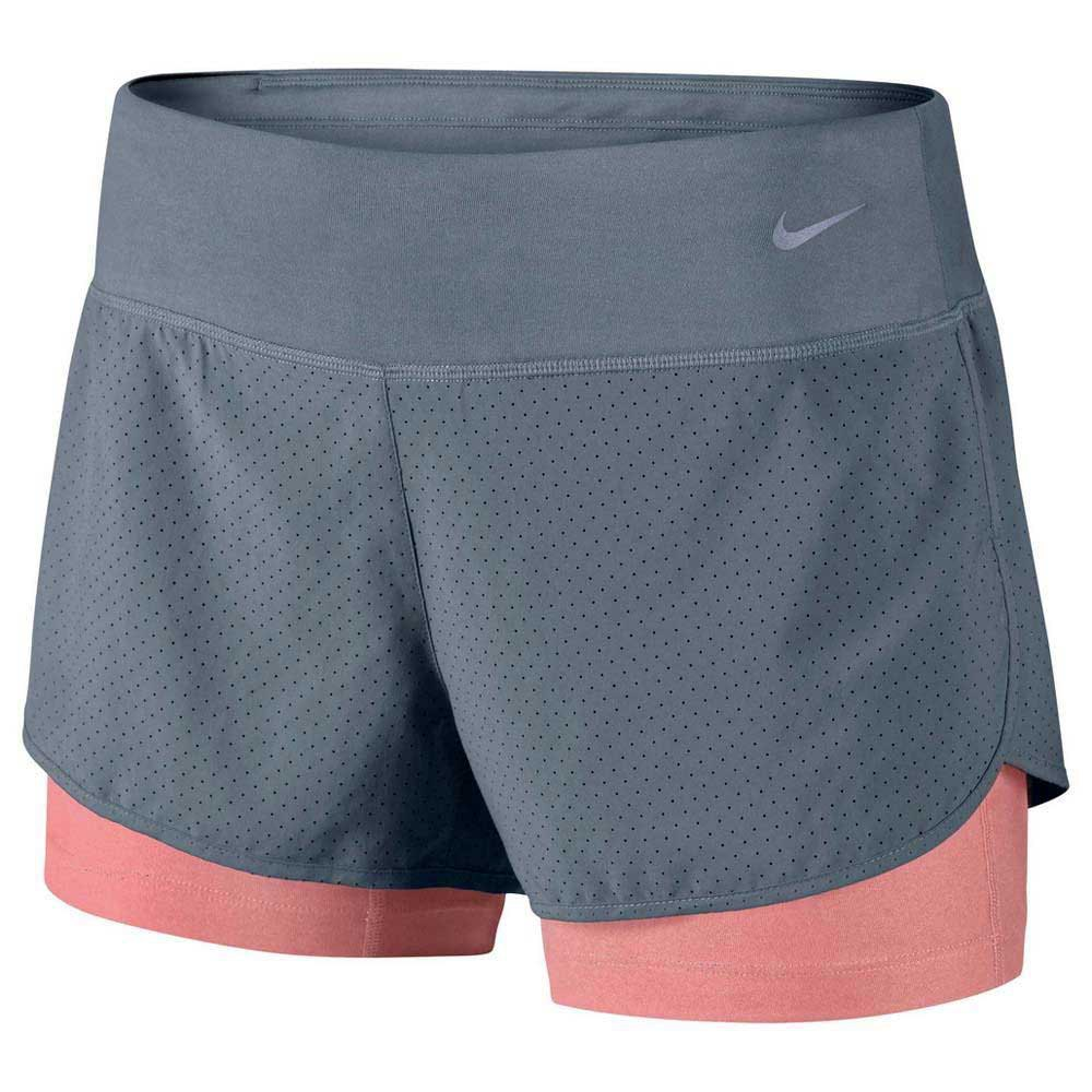 buy online cc80b 073d7 Nike Perforated Rival 2 In 1 Short