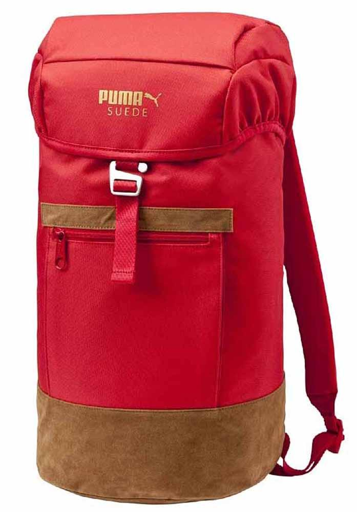 new arrival f31ab cf730 Puma Suede Backpack Team Regal buy and offers on Runnerinn