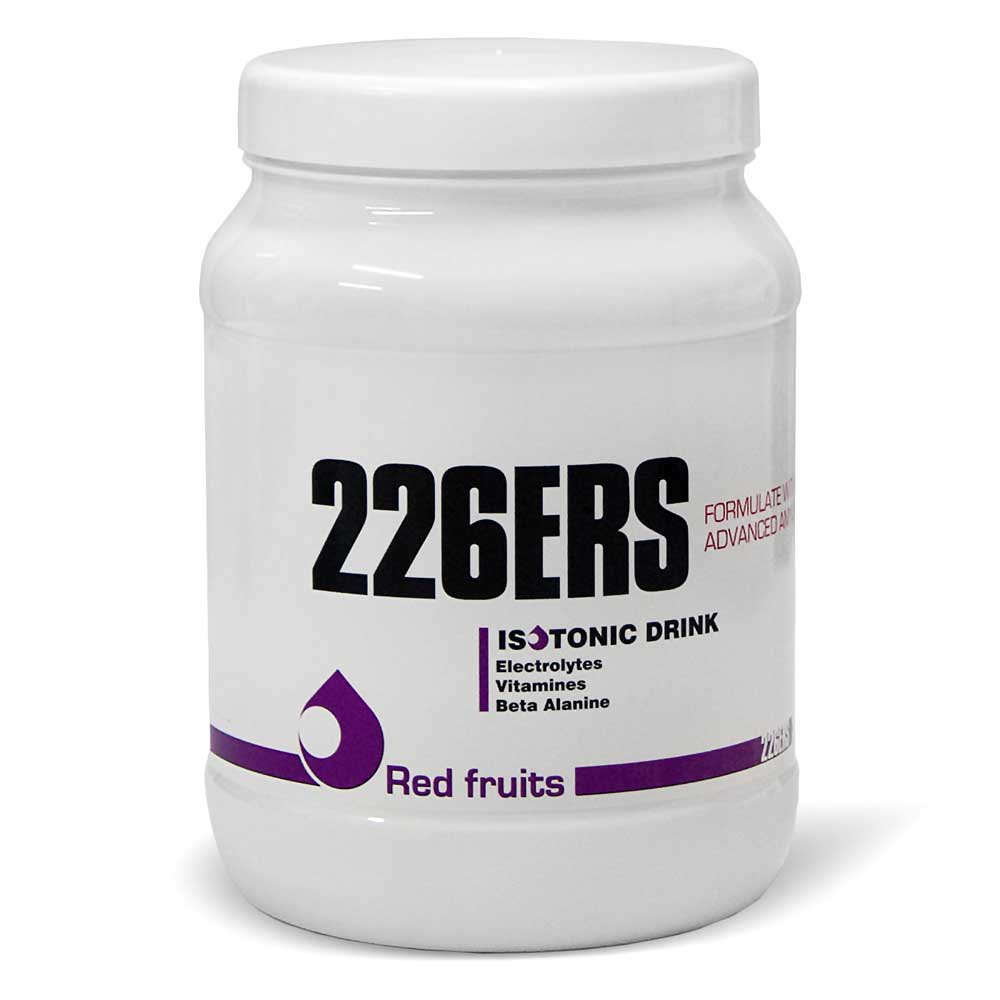 Suplementación deportiva 226ers Isotonic Red Fruits 500gr