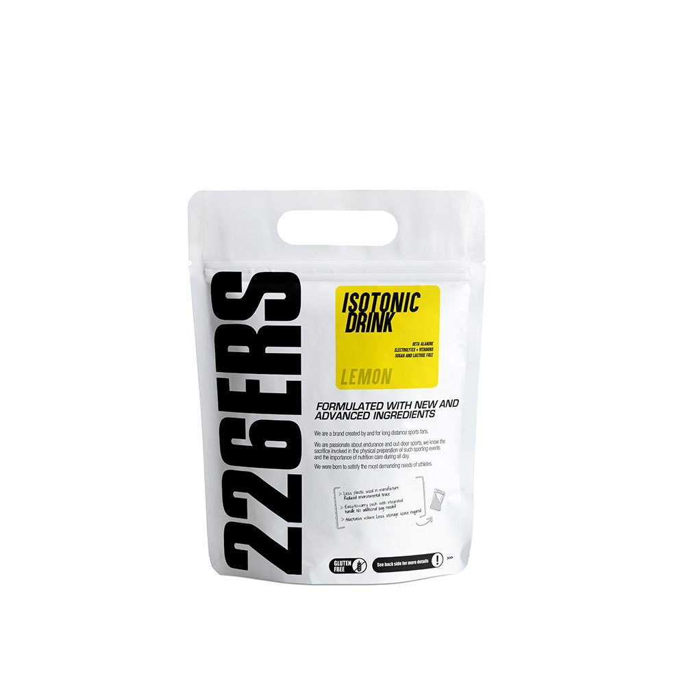 226ers Isotonic Lemon 500gr
