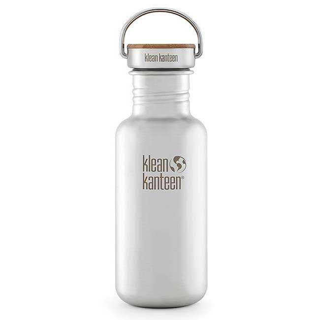Klean kanteen 0.53 L Kanteen Reflect With Stainless Unibody Bamboo Cap