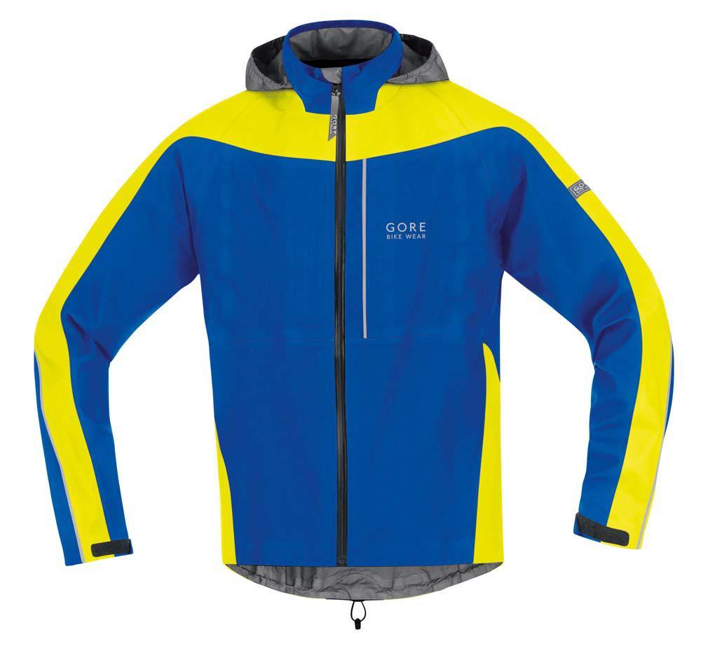 Gore Bike Wear Countdown Gore-tex Jacket Grossy Blue / Neon Yellow ...