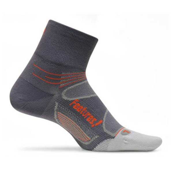 Feetures Elite Ultralight Quarter Gris Runnerinn