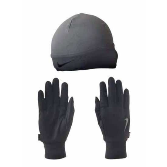 Nike accessories Dri Fit Running Beanie   Glove Set buy and offers on  Runnerinn d79230ba897