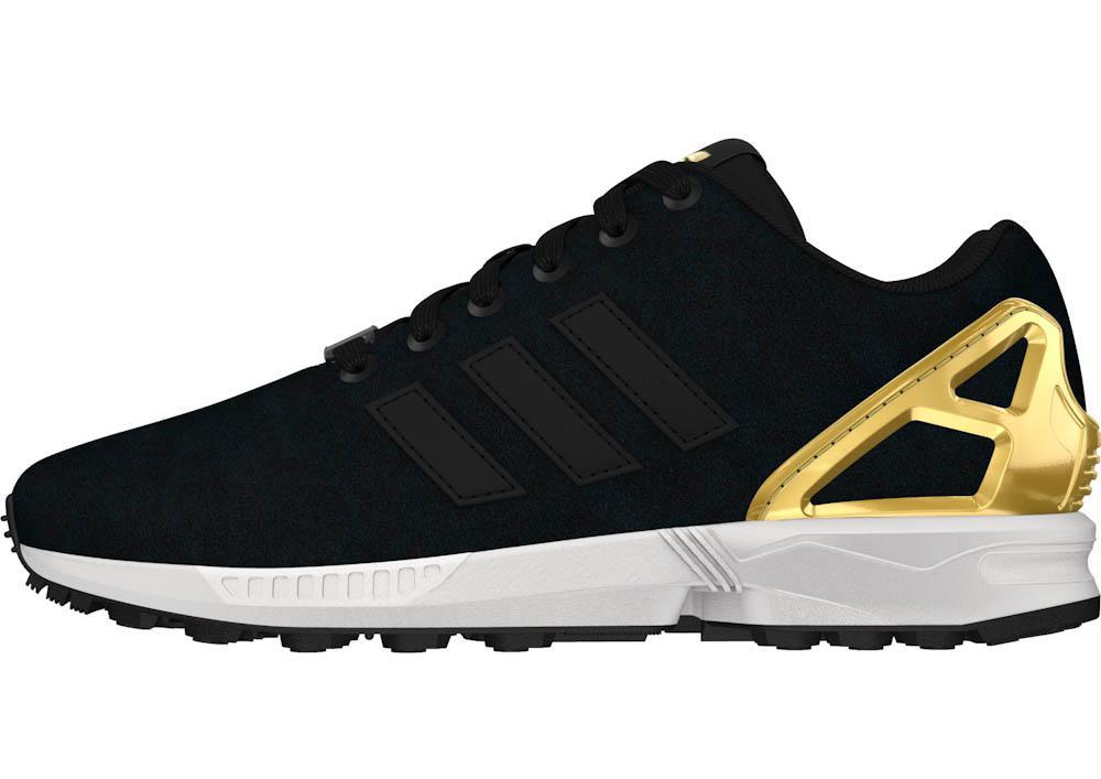 Adidas Flux Gold Black