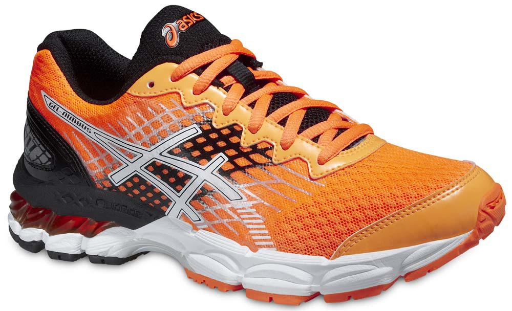 asics gel nimbus orange