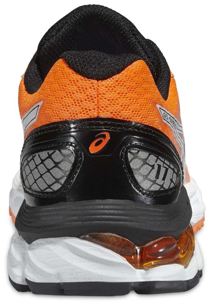 online retailer f4b18 4eaea Asics Gel Nimbus 17 Black Orange