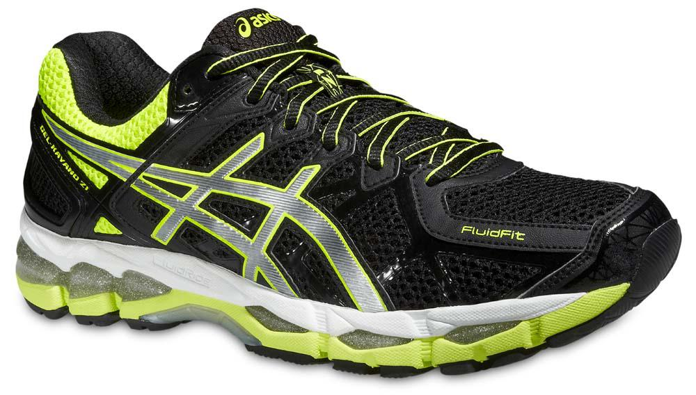 asics gel kayano 21 black yellow