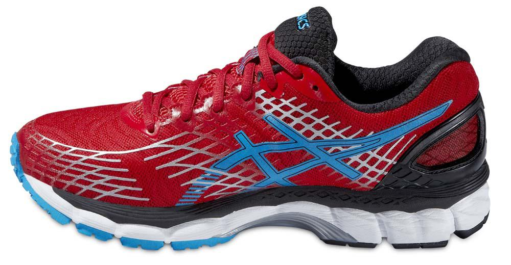 asics gel nimbus 17 red