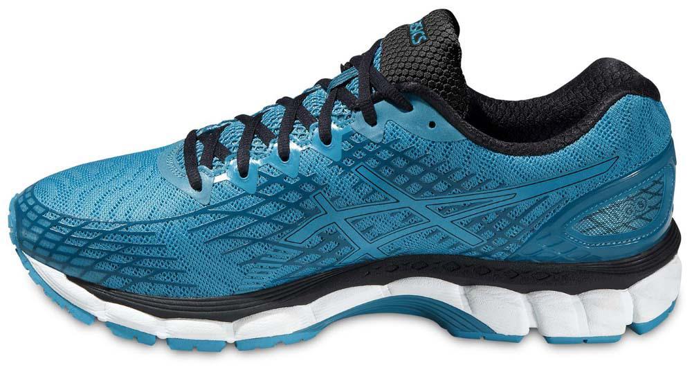 zapatillas asics gel-nimbus 17 liteshow azul negro