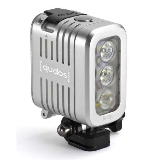 Knog lights Qudos Action Video Light for GoPro Silver ...