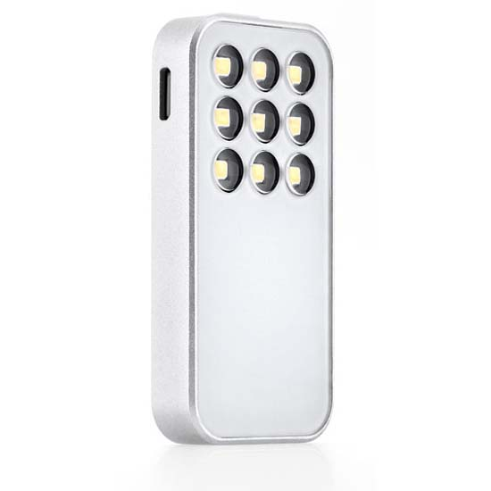 Knog lights Expose Smart Video Light for iPhone Silver