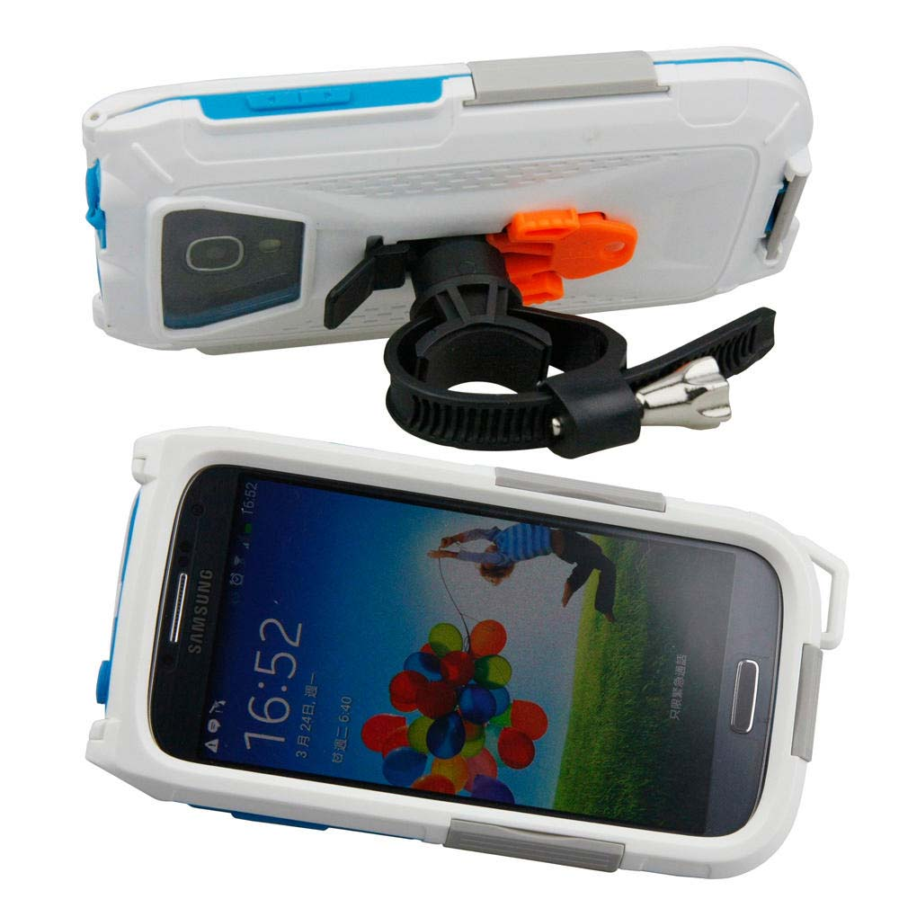 Armor-x cases All Weather Bike Mount for Samsung S3 / S4 White