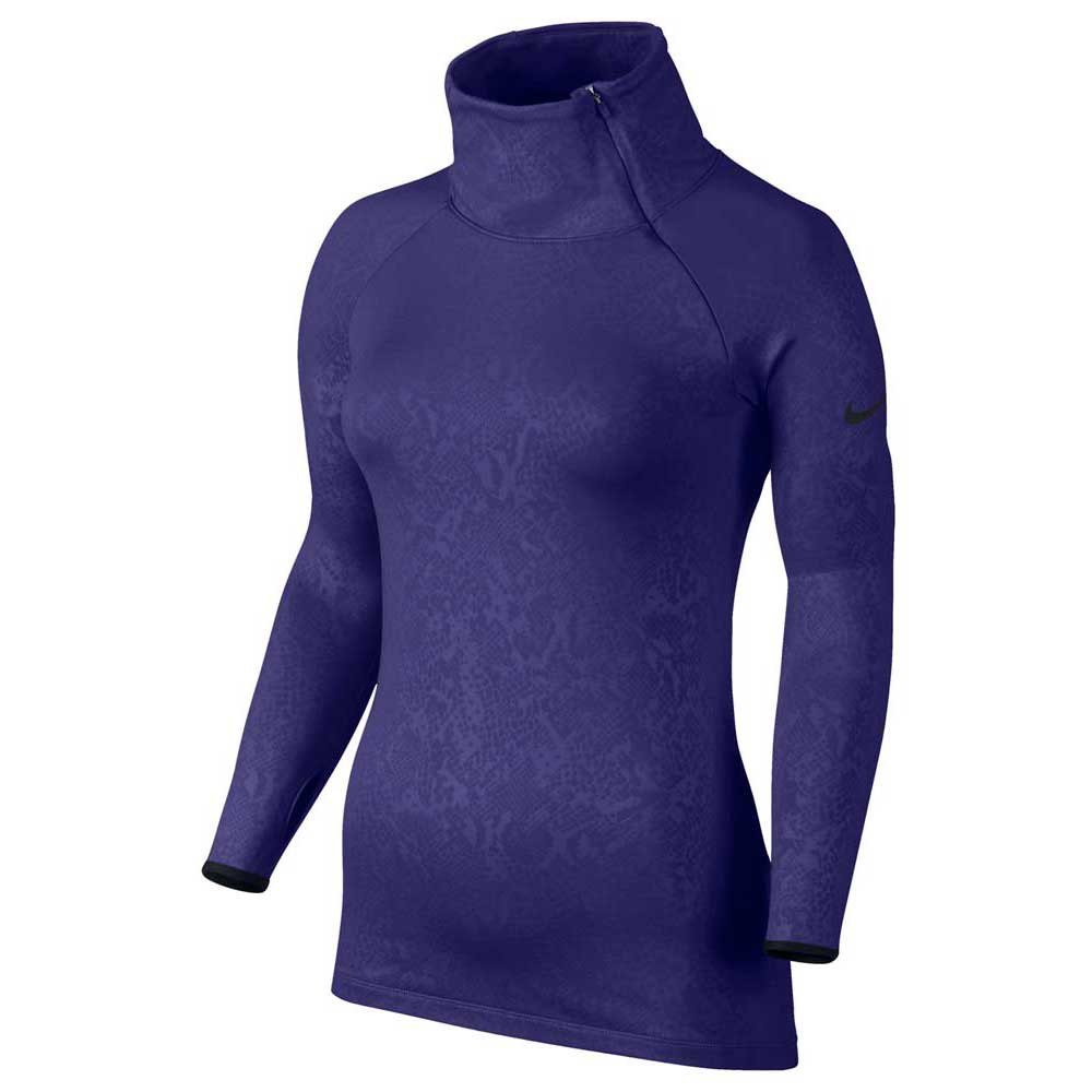 Nike Pro Warm Embossed Heights Vixen Raglan Zip