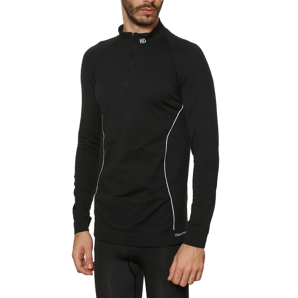 Sport hg Technical Double Soft L/s Shirt With Zip Long Neck