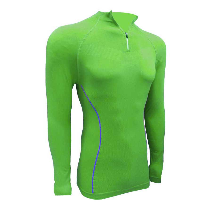 Sport hg Technical L/s Shirt With Zip Long Neck