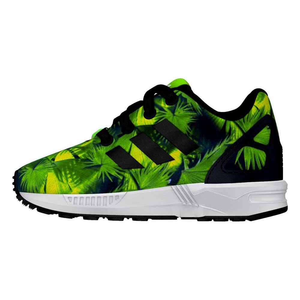 adidas zx flux verdi