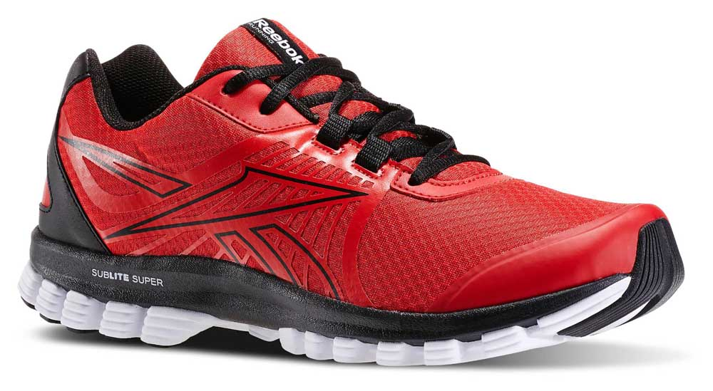 Men's Reebok Sublite Super Duo Shoes Red clearance store