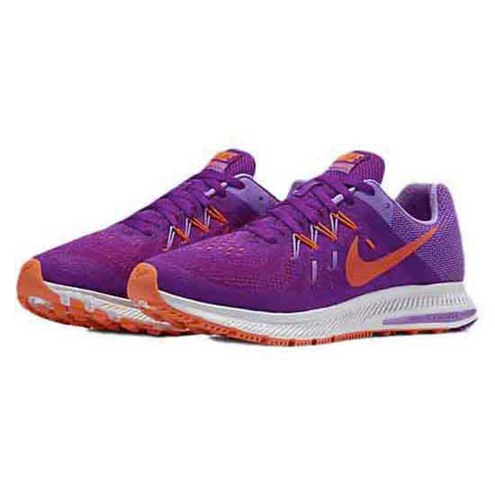new concept 6ed4f 5a73b nike zoom winflo 2 womens silver purple ...