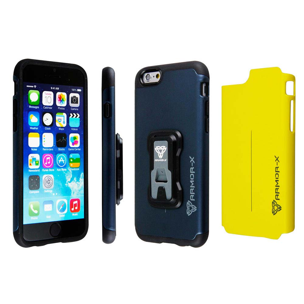 Action kamerat Armor-x Cases Rugged Case For Iphone 6/6s With X Mount