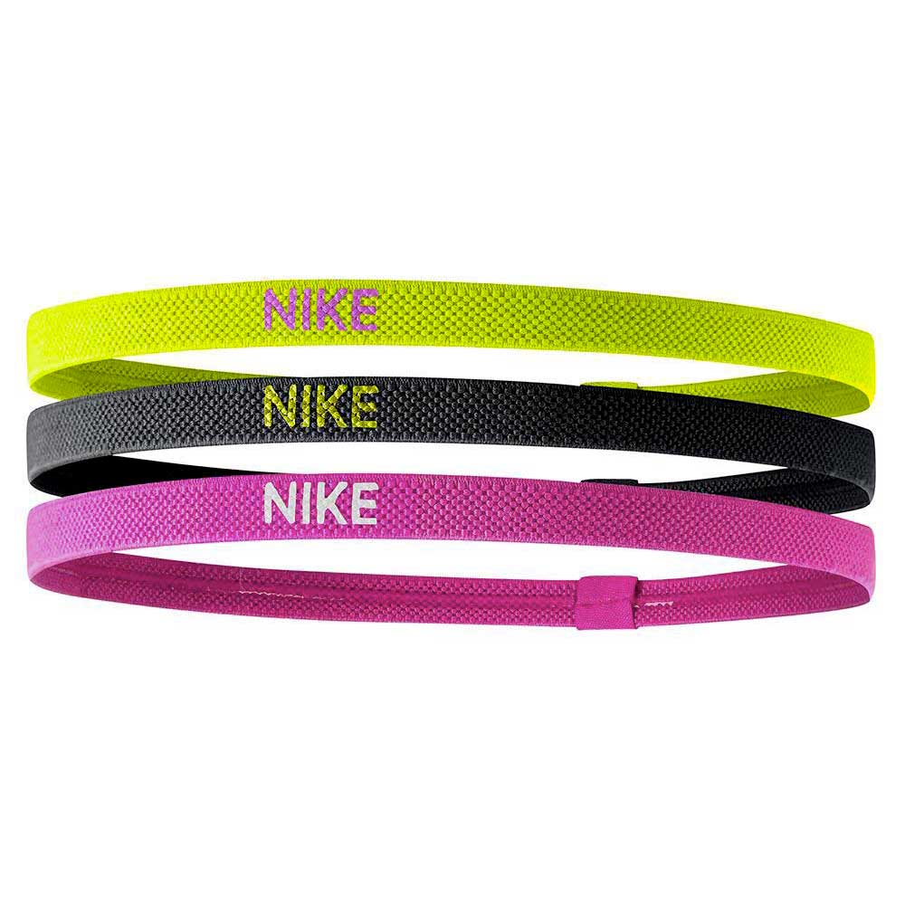 nike-accessories-elastic-hairbands-3pk-one-size-volt-black-hyper-pink
