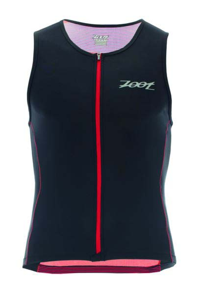 Zoot Performance Full Zip Tri Tank Race Day