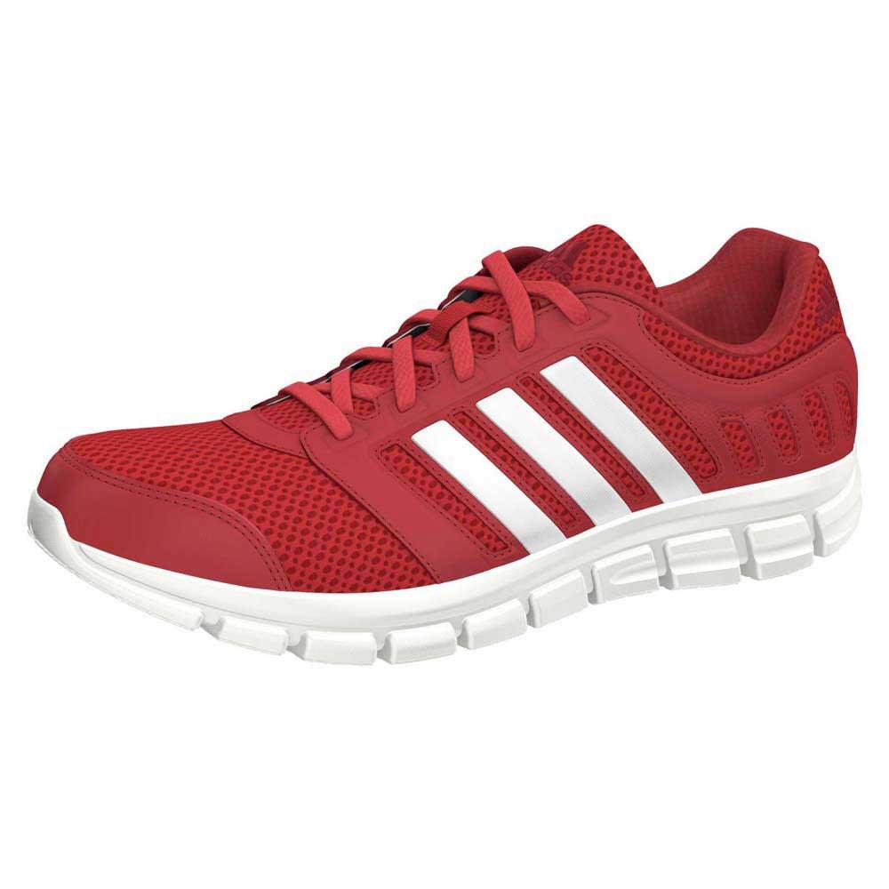 Adidas brezza 101 2 rosso vivo / ftwr potere bianco / rosso, runnerinn