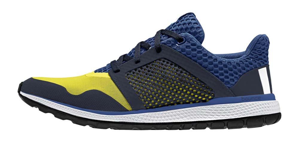 Adidas energia rimbalzare 2 shock giallo / bianco / blu ftwr eqt, runnerinn