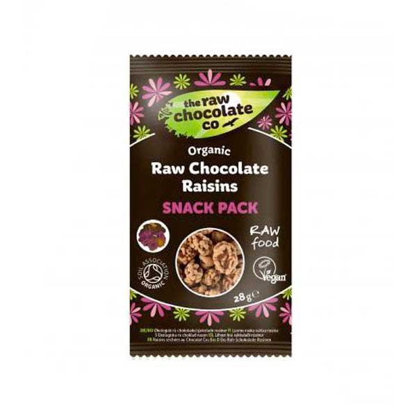 The raw chocolate co Organic Raw Chocolate Raisins 28gr