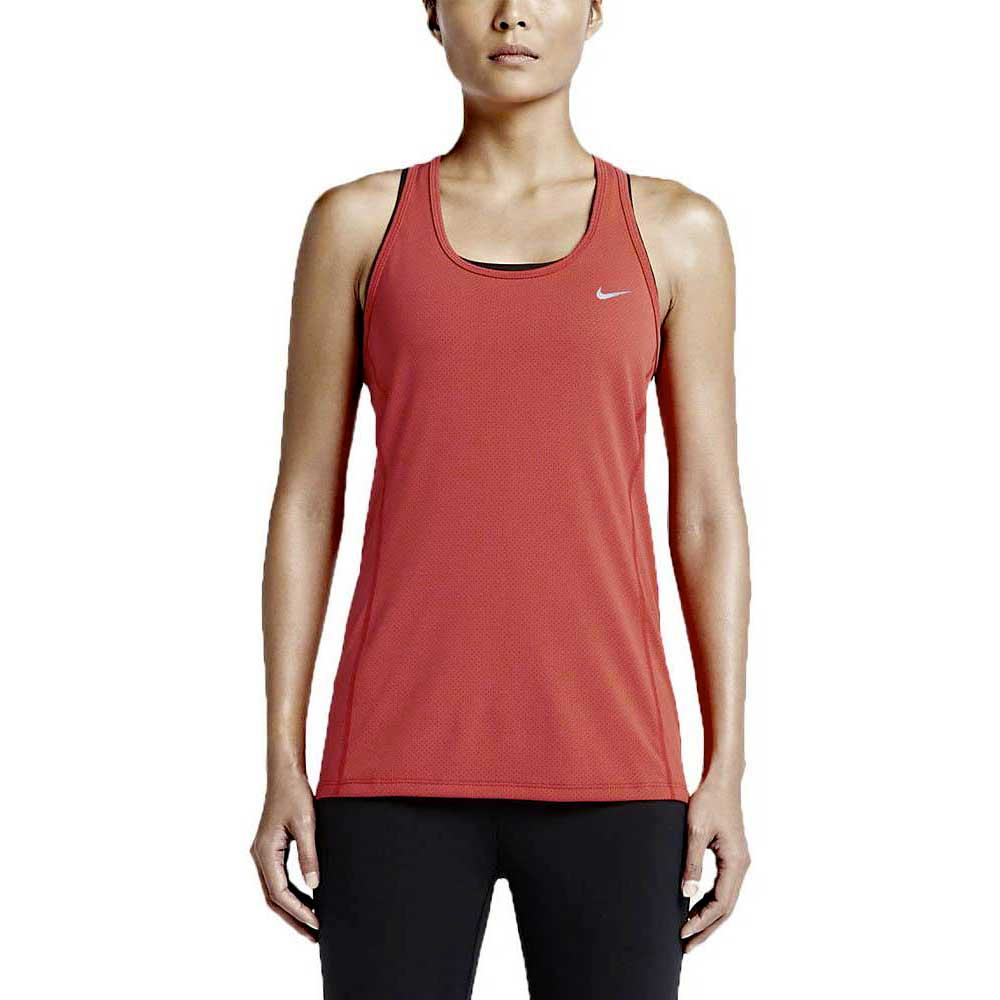 4be1deff2e03 Nike Dri Fit Contour Tank Red buy and offers on Runnerinn