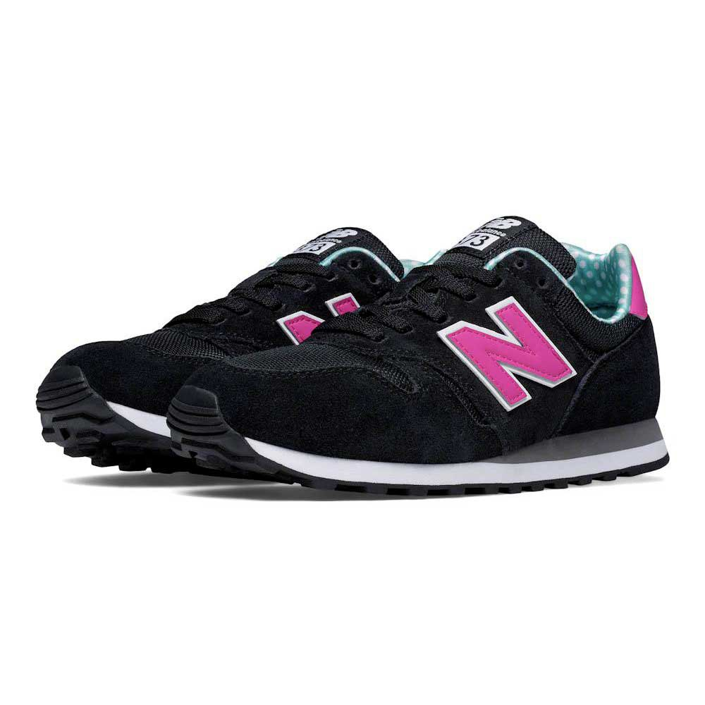 new balance 373 black and pink