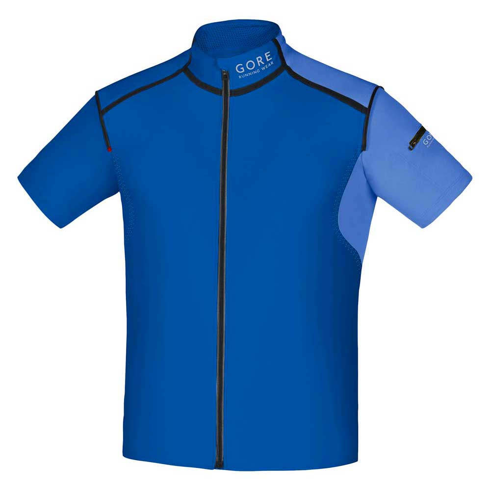 Gore running Fusion Windstopper Soft Shell Zip Off
