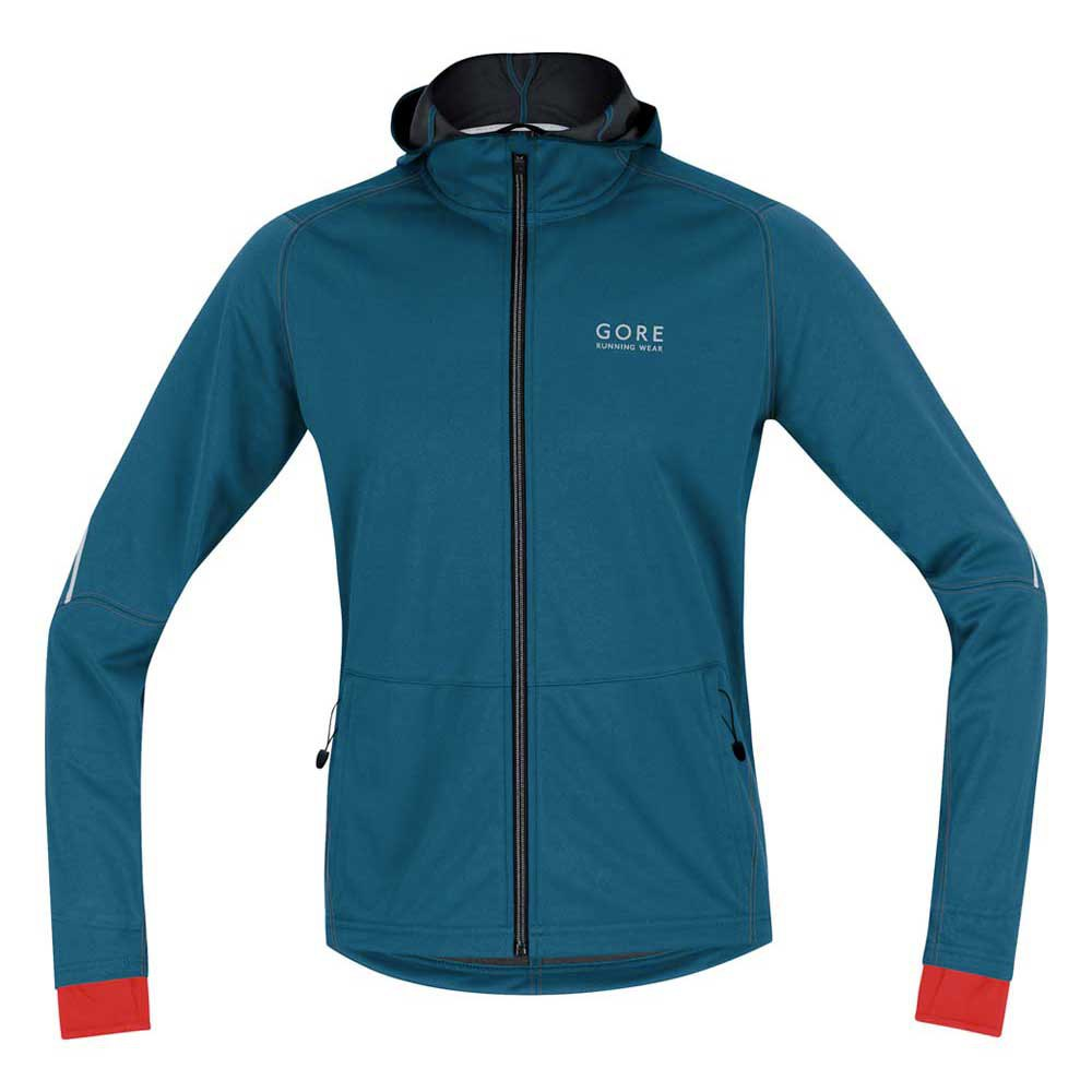 Gore running Essential Windstopper Soft Shell Hoody