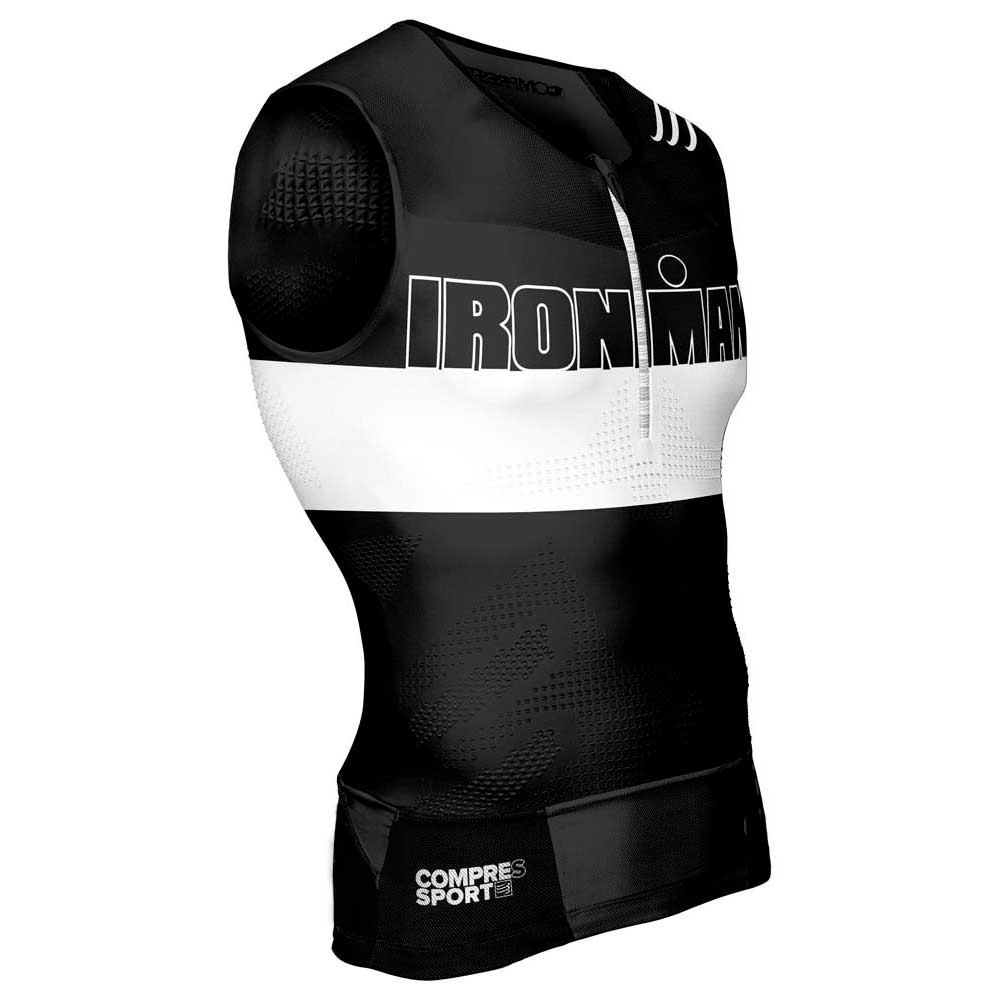 Compressport TR3 Tank Top Ironman Stripes
