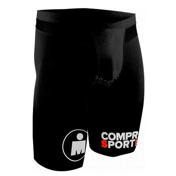 Compressport TR3 Brutal Tri Compression Short Ironman Stripes