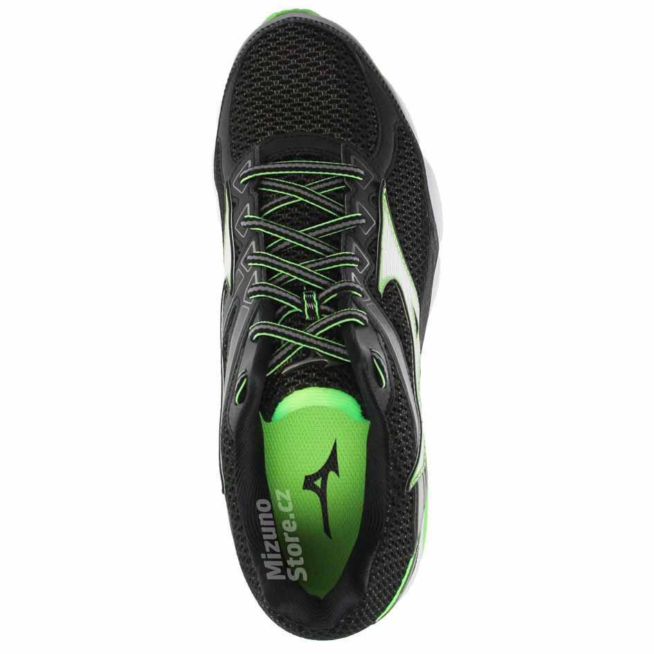 mizuno running shoes black yellow descargar