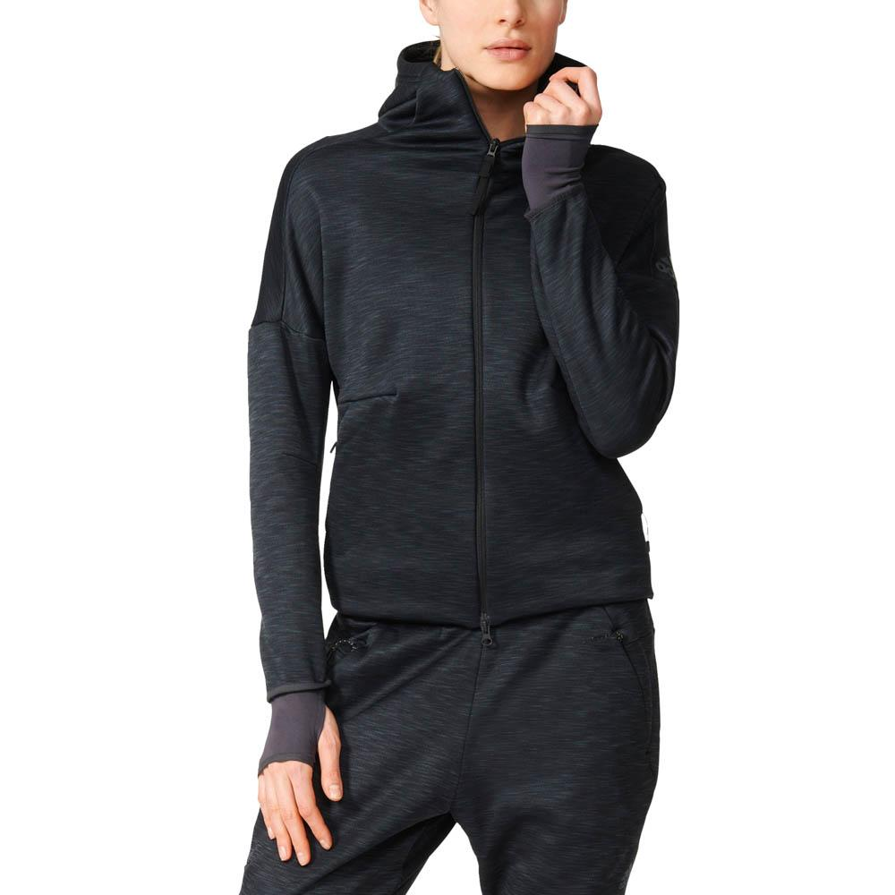 adidas zne heat hoody buy and offers on runnerinn. Black Bedroom Furniture Sets. Home Design Ideas