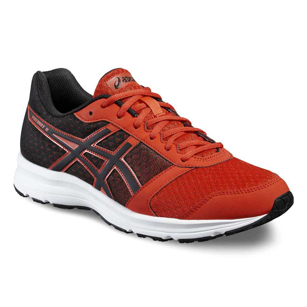 asics patriot red