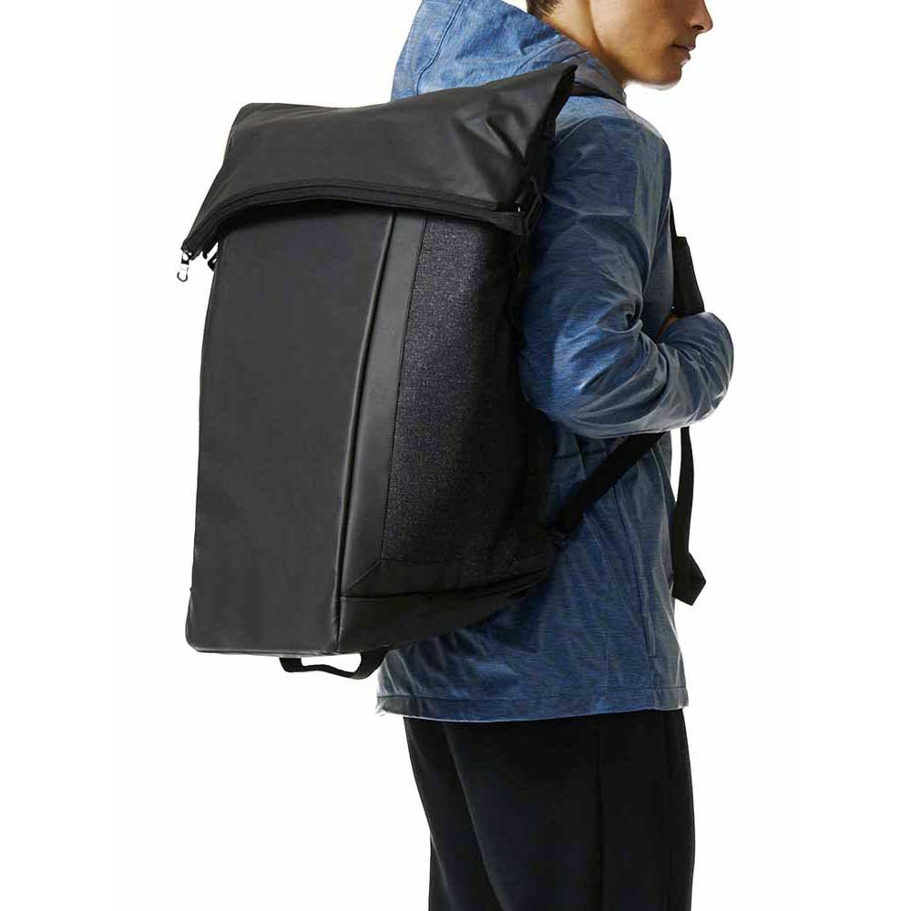 adidas Bag Travel Transformer Black buy and offers on Runnerinn