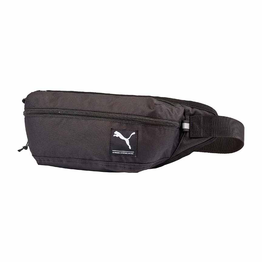 a8b07969140c3b Puma Academy Waist Bag Black buy and offers on Runnerinn