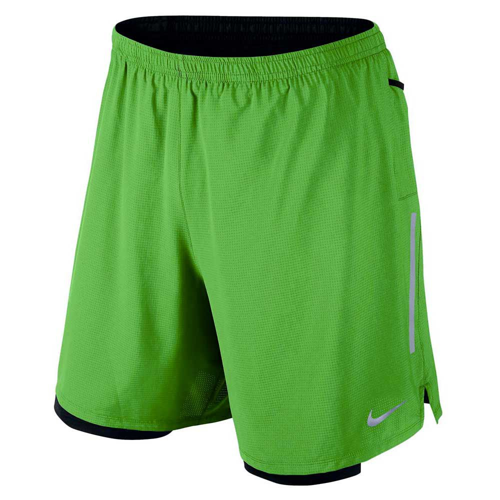 Nike 7 Inch Phenom 2 In 1 Short