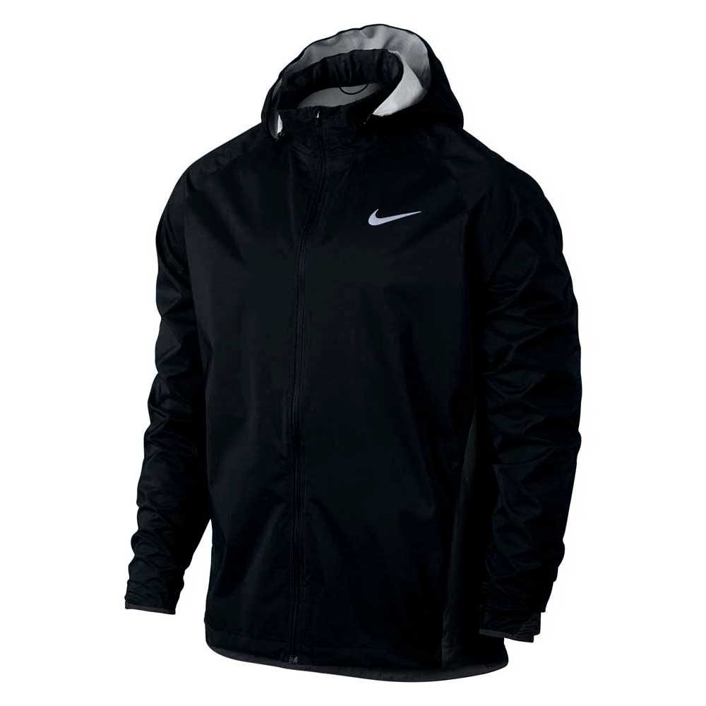 6b2ebe90b31d Nike Shield Jacket Hooded Zoned Black