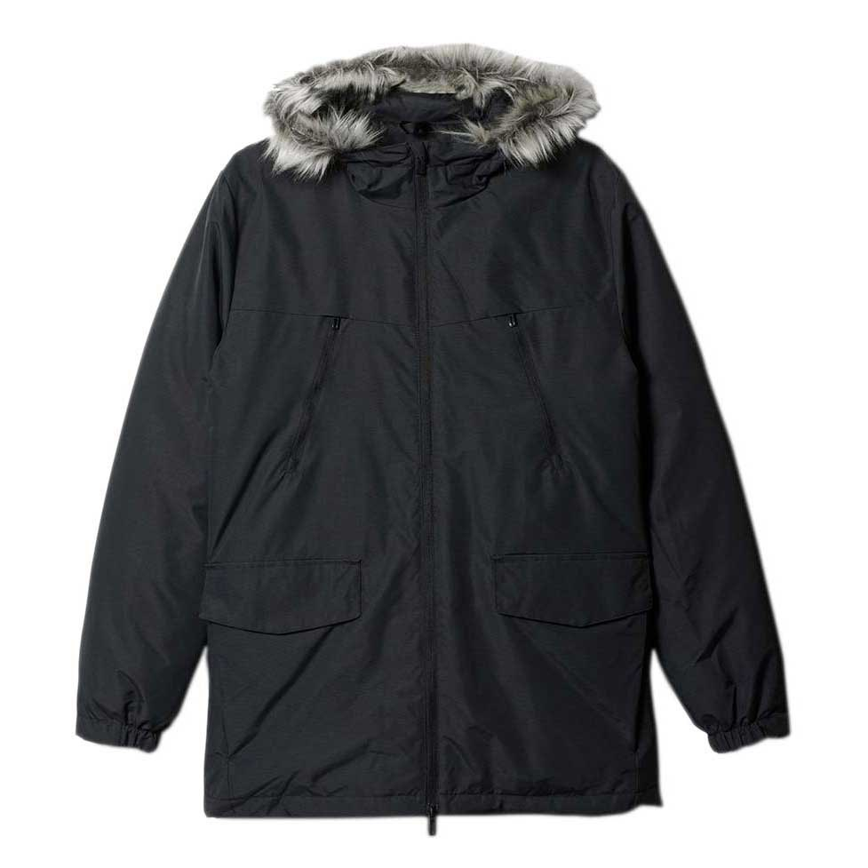 adidas Synthetic Filled Jacket Fur